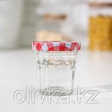 Банка для сыпучих продуктов «Домашний очаг», 50 мл, 5×5 см, цвет МИКС