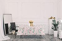 """Клеенка декоративная """"Виниллайт"""" на тканевой основе с печатным рисунком и ПВХ покрытием, рисунок Нежность"""