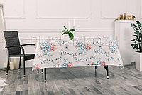 """Клеенка декоративная """"Виниллайт"""" на тканевой основе с печатным рисунком и ПВХ покрытием, рисунок Вальс"""