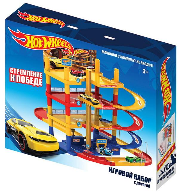 Игровой набор Hot Wheels с дорогой - фото 2