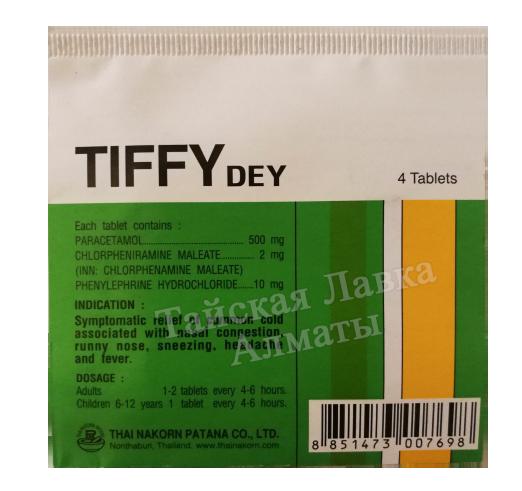 Простуда, грипп, ОРЗ - Тиффи