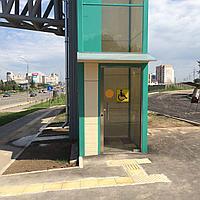 Вертикальная шахтная платформа для инвалидов