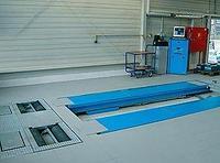 Электрогидравлический ножничный подъемник, г/п 3500кг, с ЛЮФТ-детектором