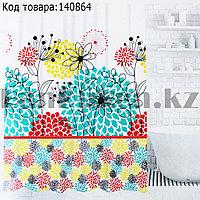Водонепроницаемая тканевая шторка для ванной HangJie 180x180 см