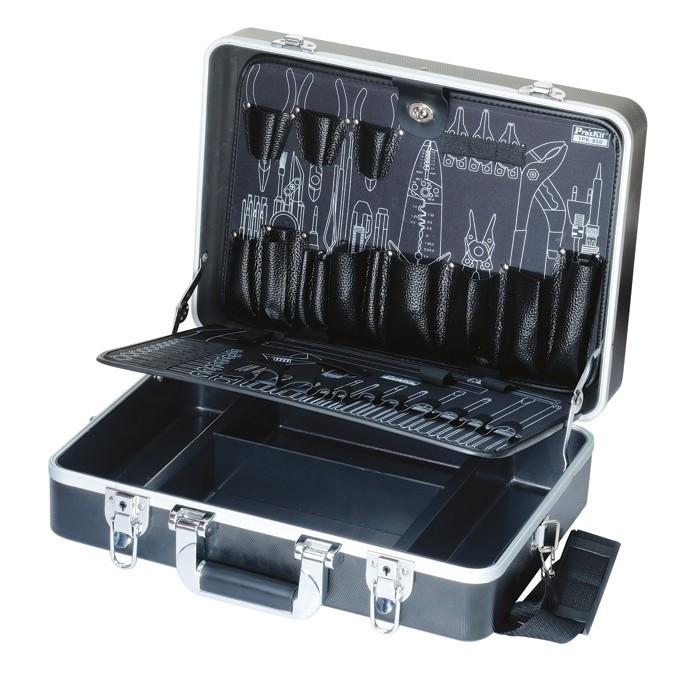 TC-850 Pro'sKit Кейс с 2 палетами для инструмента(пластик АВС+алюминий)