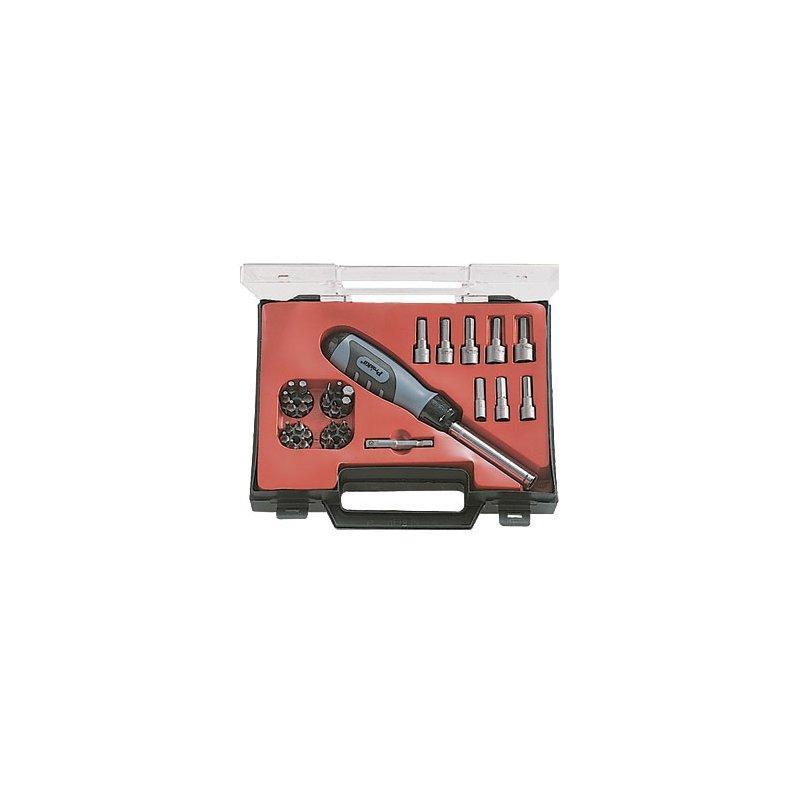 8PK-SD012B Pro'sKit Отвертка с насадками (8 головок,25 бит,адаптер)*