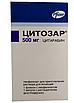 Цитозар (CYTOSAR) цитарабин (cytarabine) 100 мг, 500 мг, 1000 мг (Европа), фото 2