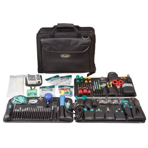 1PK-19382B Pro'sKit (аналог 1PK-9382)  Набор инструментов для обслуживания LAN