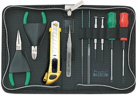 1PK-301 Pro'sKit Набор инструментов компактный