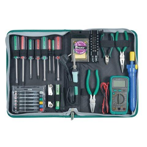 1PK-616B Pro'sKit Набор инструментов для электроники профессиональный