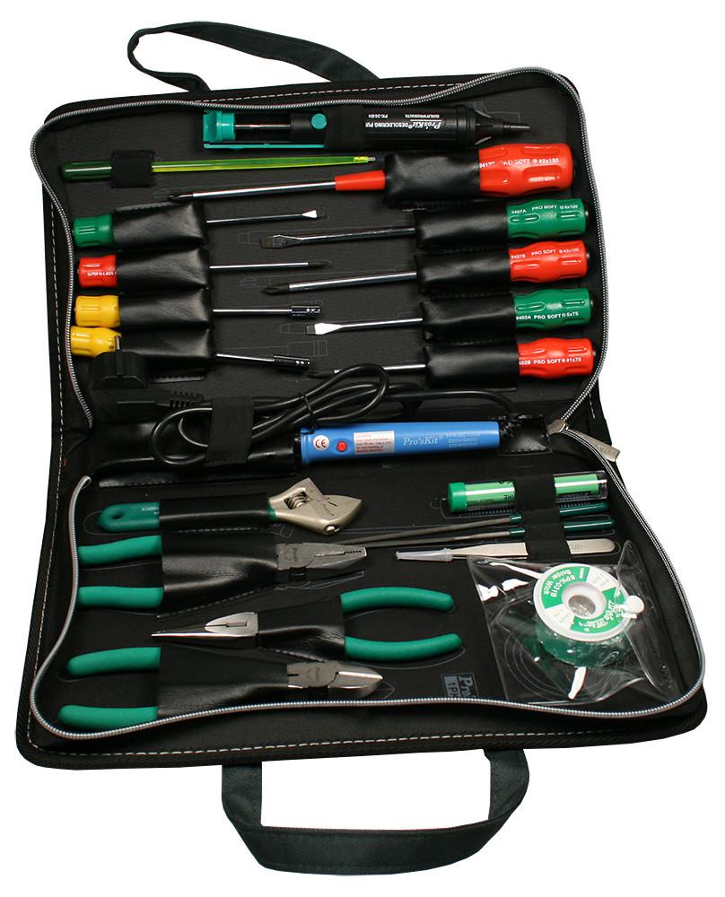 1PK-813B Pro'sKit Набор инструментов для электроники базовый