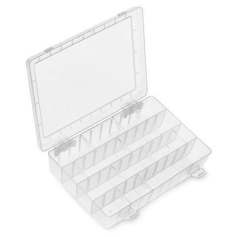 203-132H Pro'sKit Кассетница для деталей пластиковая (252х182х40.5мм)