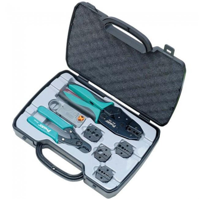 6PK-330K Pro'sKit Набор инструментов для коакс. кабелей универсальный