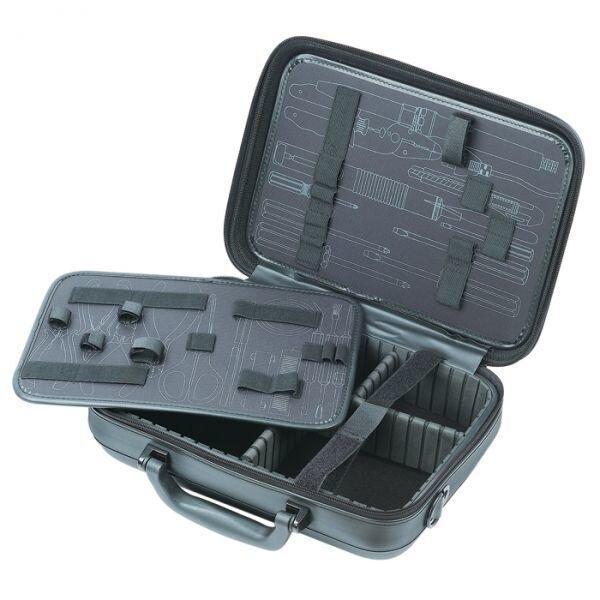9PK-710P Pro'sKit Кейс для инструмента с 2 палетами ЛЮКС(кожа)