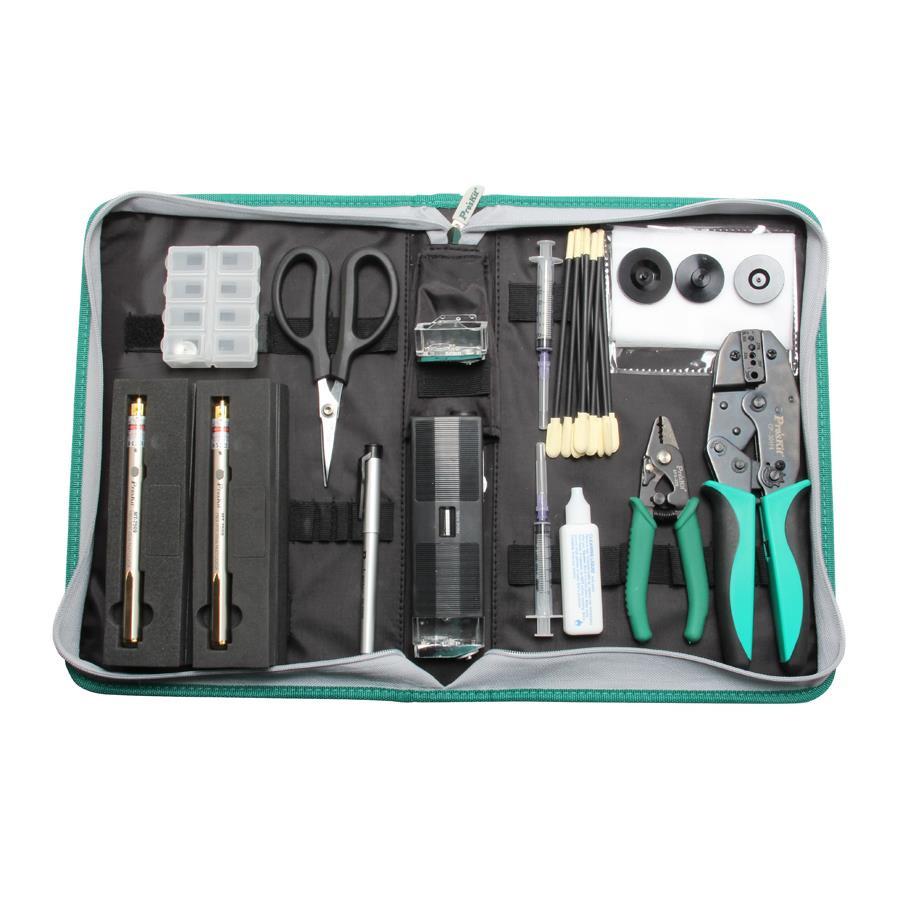PK-6940 Набор инструментов для работы с оптоволокном Pro'sKit