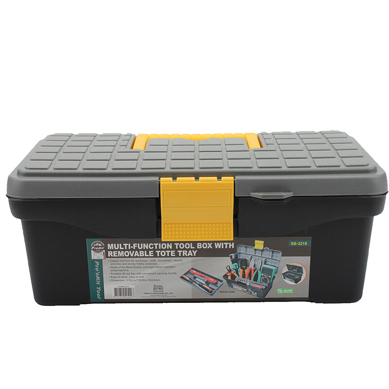 SB-3218 Pro'sKit Ящик для инструментов пластиковый (315х175х130мм)