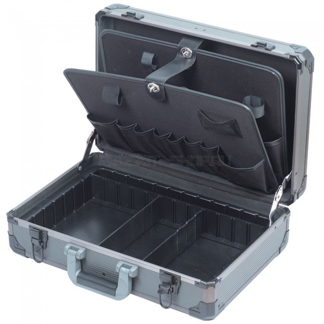 TC-736 Pro'sKit Кейс с 2 палетами для инструмента(пластик АВС+алюминий)