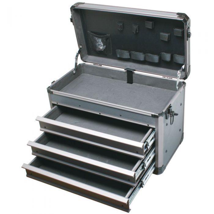 TC-755 Pro'sKit Кейс с 3 выдвижными и верхним ящиком (рама-алюминий)