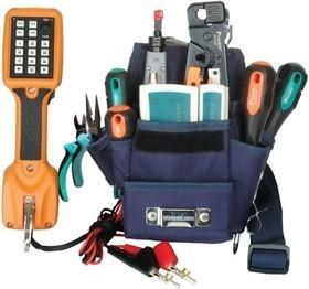 PK-2012H Pro'sKit (аналог PK-12012H) Набор инструментов для обслуживания телефонных сетей*