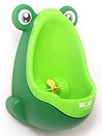 Писсуар Roxy-Kids на присоске для мальчиков Лягушка Зеленый