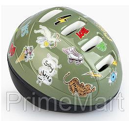 Шлем защитный Happy Baby STONEHEAD size S Grass