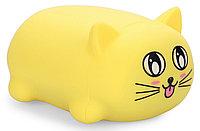 Игрушка Happy Baby котик Soft&Joy 330374 Желтый