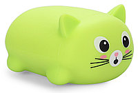 Игрушка Happy Baby котик Soft&Joy 330374 Зеленый