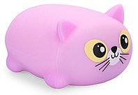 Игрушка Happy Baby котик Soft&Joy 330374 Фиолетовый