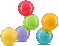 Набор ПВХ-игрушек Happy Baby для ванной IQ-Bubbles