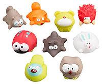 Набор игрушек Roxy Kids для ванной Лесные жители 9 игрушек