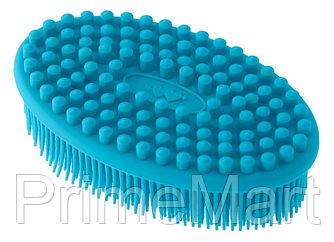 Губка для тела Roxy Kids силиконовая Голубая