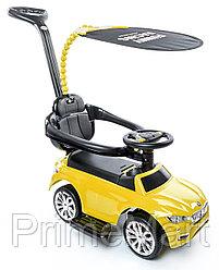Машинка-каталка Happy Baby Jeepsy Yellow