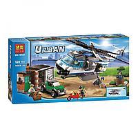 Конструктор Bela City 10423 Вертолётный патруль (Аналог Lego City 60046)