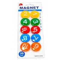Магнитный набор цыфры 10 шт.