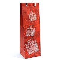 Подарочный пакет бутылка