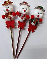 Ручка маленький снеговик