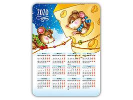 Календарь деревянный с подставкой