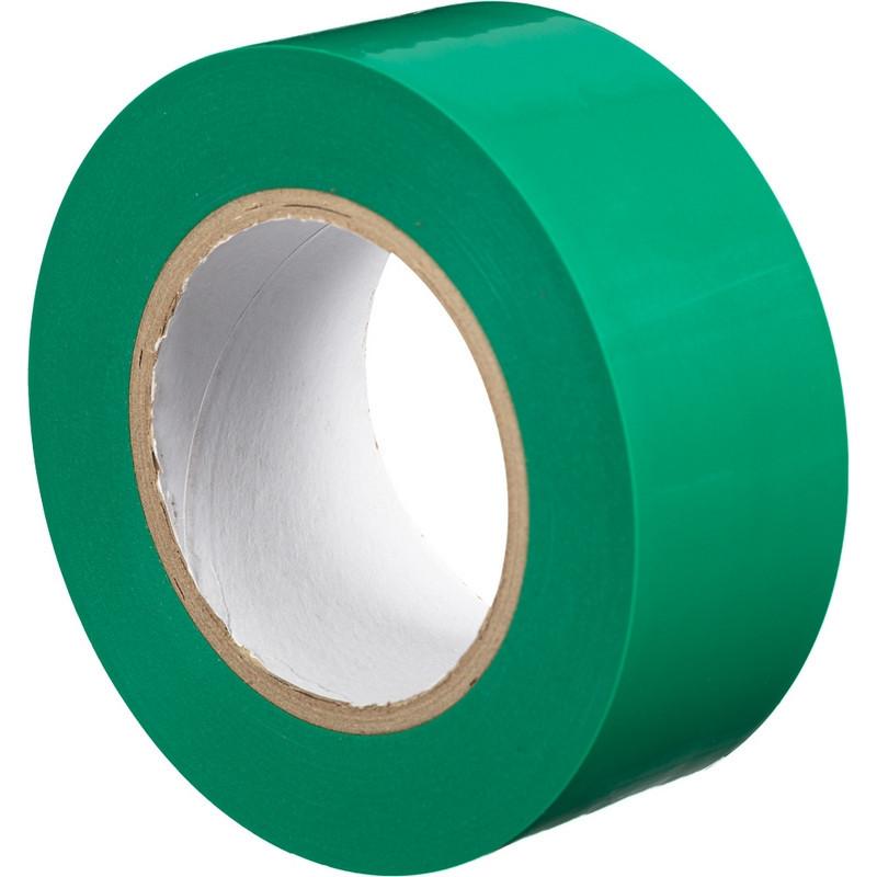 Лента  для разметок зелёная, жёлтая.