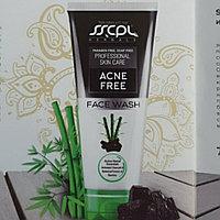 Гель для умывания лица с Активированным углем и бамбуком для проблемной кожи (SSCPL), 100 грамм