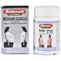 Медохар гуггул для снижения веса (Medohar Guggulu), Baidyanath, 120 таб.