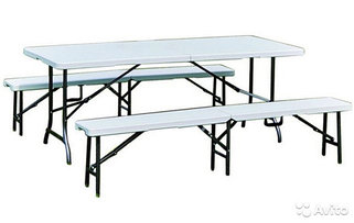 Складные столы и лавки