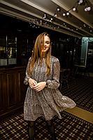 Женское осеннее шифоновое нарядное платье PUR PUR 850/3 46р.