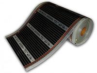 Способ монтажа пленочных электрополов под ленолеум, ламинат, ковролан