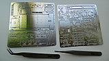 Пинцет стальной 2 шт для сборки стальных 3D конструкторов ИТД , фото 4