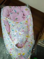 Матрас кокон для новорожденных Конфеты