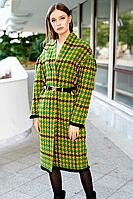 Женское осеннее драповое пальто Colors of PAPAYA 1444 46р.