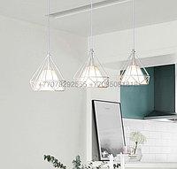 Потолочный светильник в стиле Лофт белый
