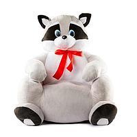 Мягкая игрушка «Енот-кресло»