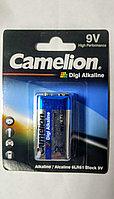 Батарейка, CAMELION, 6LR61-BP1DG, Digi Alkaline, 6F22(крона), 9V, 680 mAh, 1 шт. в блистере