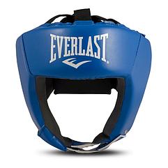 Боксерский шлем EVERLAST кожа S